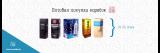 Box vodka Finland Yeltsin 3l 3l 3l absolute