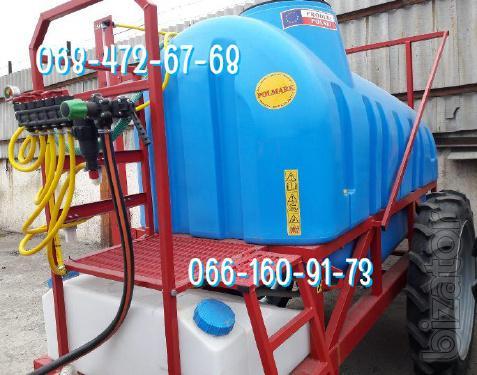 In stock 2000l Sprayer, 2500 litre trailed
