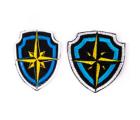 "Chevron-badge ""wind rose"""