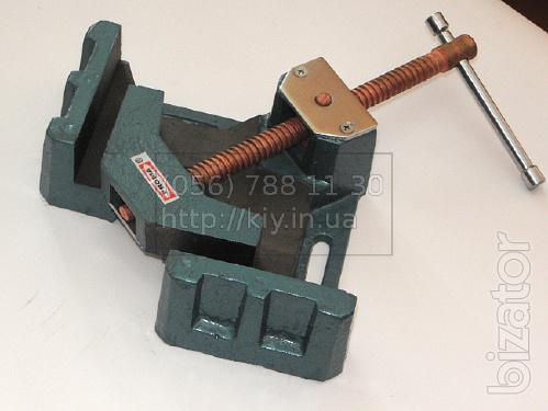 Clamp for welding at 90 degrees - rectangular Grip