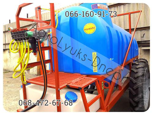 Trailed boom sprayers 2000, 2500 l