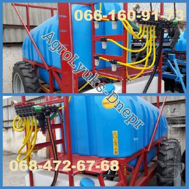 Sprayer with reinforced frame trailed 2000l-2500l