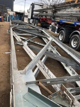 Sell metal trusses 18 m, 20 m, 24 m, 30 m