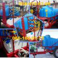 Trailed sprayers with tank capacity of 2000 - 2500 liters