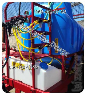 OP-2000l, 2500 l one of the Best Sprayers!