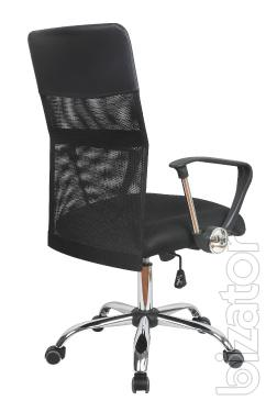 Office chair Olivia D, medium back, black