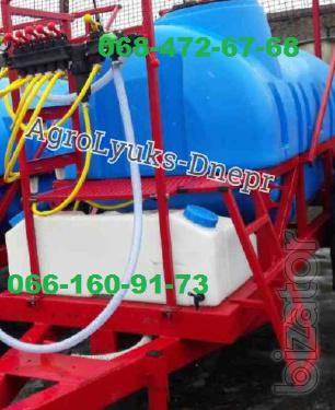 Trailed Sprayer 2000l-2500l with improved design