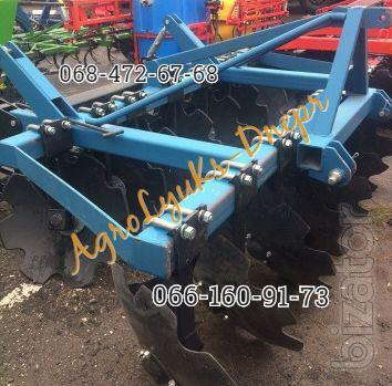 BDF 1.8 - 2.4 mounted harrow