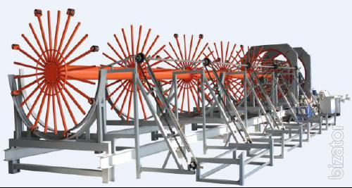 Line for the production of cylindrical cages TJK HL 15/20/30