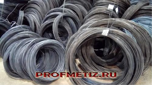 Wire packaged for linking in rolls of 1-5 kg