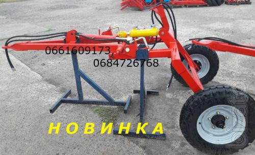 Tow hitch for disk harrows MND AGD AG