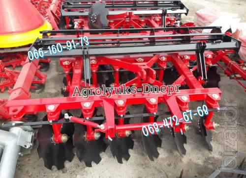 Mounted disc Harrow 2.1 - 2.4 m,semi-trailer MND