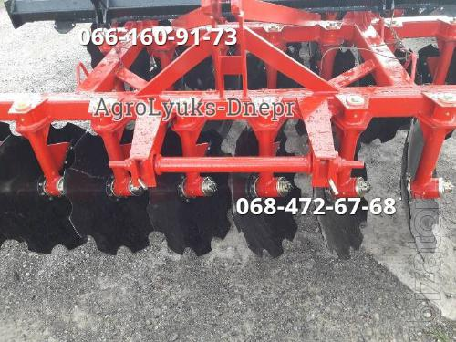 Disc harrow with adjustable angle of attack MND 2.1 - 2.4 m