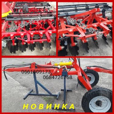 Hinged-semi-trailed disc Harrow MND 2.1-2.4