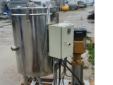 Capacity stainless, volume of 0.14 cu. ft., vertical with pump