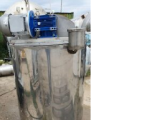 Capacity stainless, volume of 0.15 cubic meters, shirt, thermos, al. heating, mixing