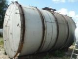 Capacity stainless, volume -40 cubic meters, horizontal