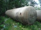 Capacity stainless, volume of -45 cubic meters, horizontal