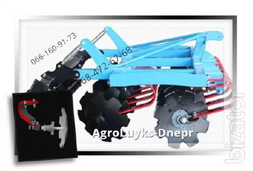 Cultivator of mounted, trailed LDN -2.4 m,LDVP-3M