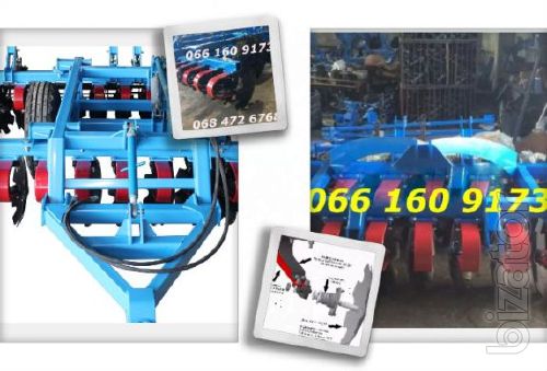 Cultivator with spring stand LDVP -3M