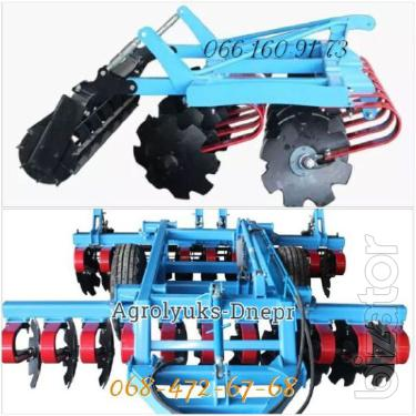 Heavy Cultivator with spring stand