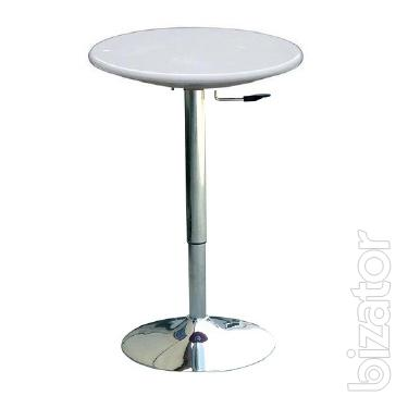Table adjustable bar Amir, countertop plastic, 60 cm