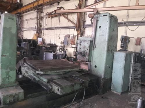 Horizontal boring machine TOS WH 80