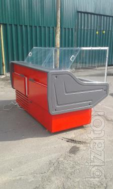 Refrigerated display Cold a used, refrigerated counter b