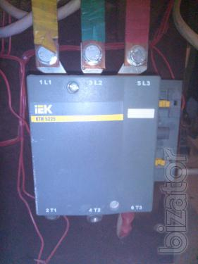 Circuit breaker IEK ВА88-35, 3P, 250A contactor LPS 5225 (225 A), the system ATS