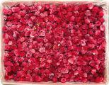 Frozen raspberries in bulk.