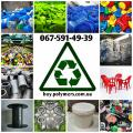 Taking waste and manufacturing defects, plastic, PS, PP, HDPE, LDPE