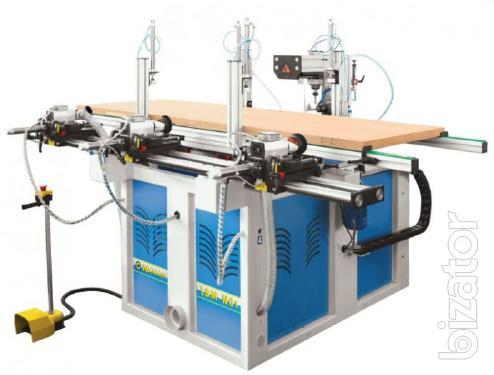 Drilling-grooving machine, CNC control Stomana LBM-1NC