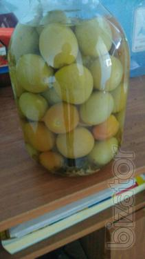 Tomatoes Green. cans. 3l GOST