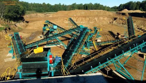 Crushing and sorting complex(DSC)