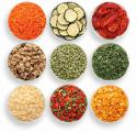 Dried vegetables and fruits from the manufacturer. Wholesale.