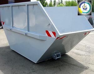 Storage bin for garbage, fabrication hopper for loose, Novomoskovsk