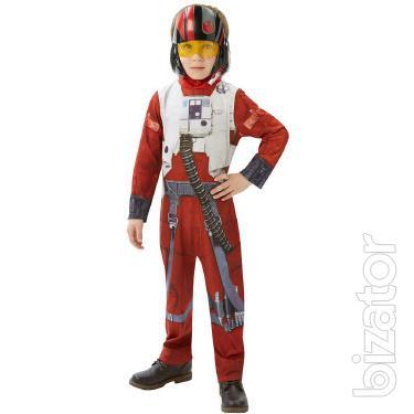 children's pilot costume Star wars