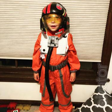 suit For the children's Dameron
