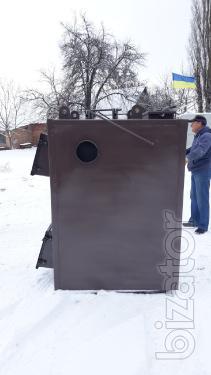 Піролізні котли повітряного опалення потужністю 50 кВт від виробника
