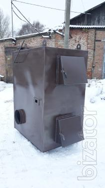 Pyrolysis boilers air heating capacity of 50 kW from the manufacturer