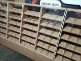 Pastry counters are used, showcase pastry shop chipboard b