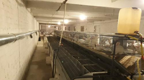 Heating rabbit farm.