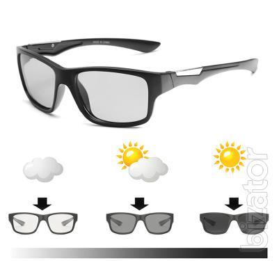 Street photochromic polarized sunglasses