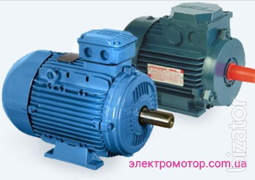The motor is three phase at 380V air from 0.18 kW to 315 kW