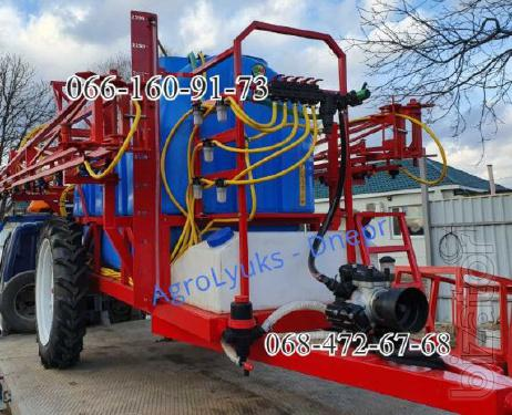 A novelty on the Market of agricultural Hydraulic Polmark 2000l,2500l