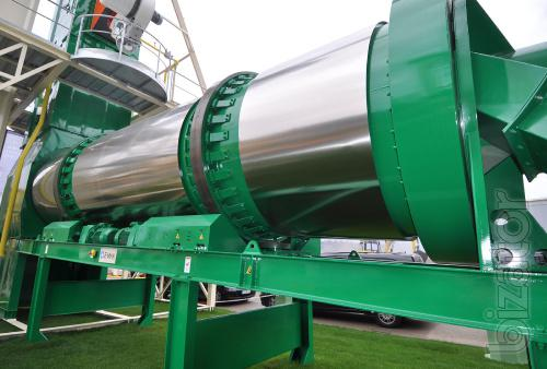 Stationary asphalt plant E-MAK Super GT 200 t/h Turkey