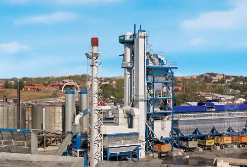 Stationary asphalt plant E-MAK Majestic 260 t/h Turkey