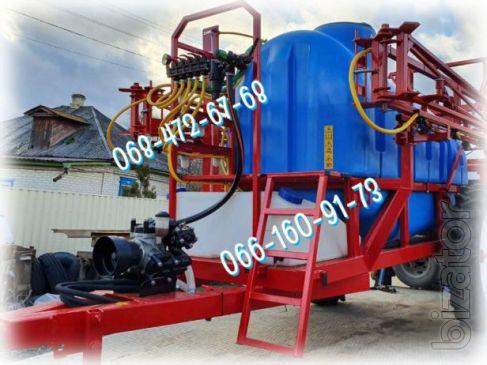 Trailed sprayer OP-2000-18 hydraulic rod