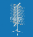 Rotating stand for seed outdoor 4-beam (112 pockets)