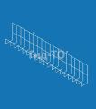 Shelf mesh mounted on the mesh (width 900 mm)